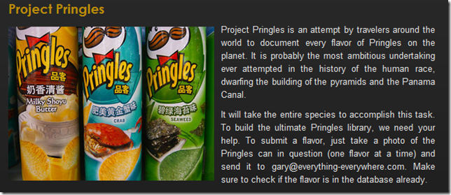 Project Pringles