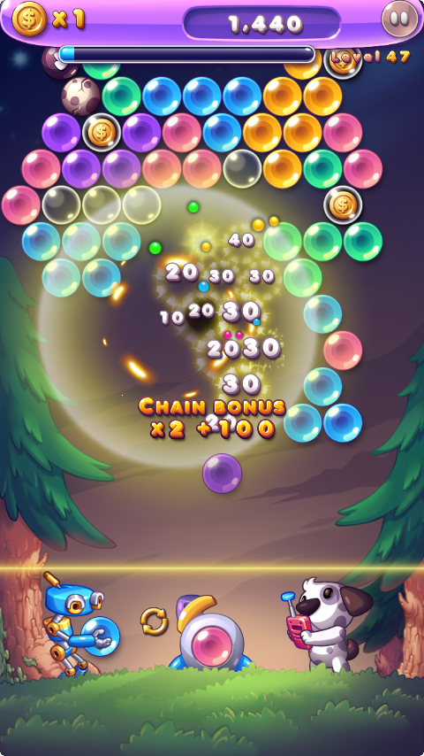 Bubble Star - screenshot