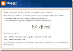 blogger upload error