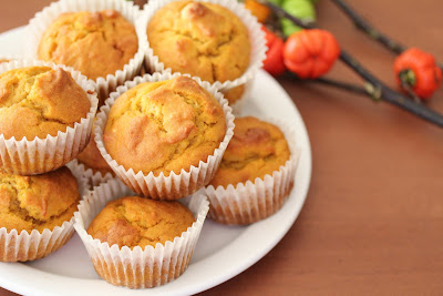 close-up shot of a stack of muffins on a plate.
