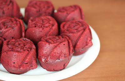 Red Velvet Cupcake Roses