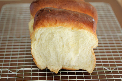 close-up photo of a loaf of milk bread