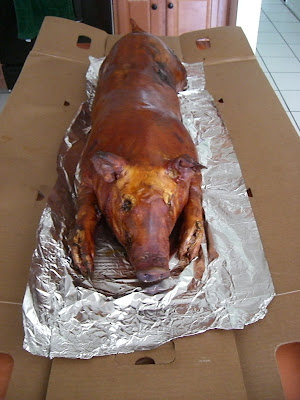 Lechon and other party food