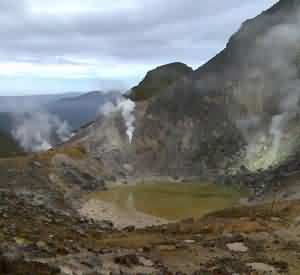 Mountain Sibayak, North Sumatera