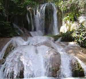 Saluopa, The 12 Levels Waterfall