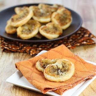 Onion & Brie Mini Palmiers