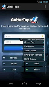 GuitarTapp - Tabs & Chords screenshot 0