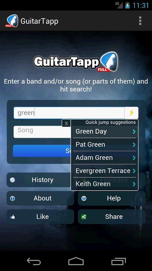 GuitarTapp - Tabs & Chords - screenshot