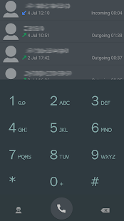 ExDialer Style Black Theme- screenshot thumbnail