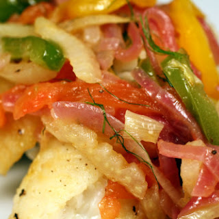 Smoky Hogfish and Pepper Escabeche