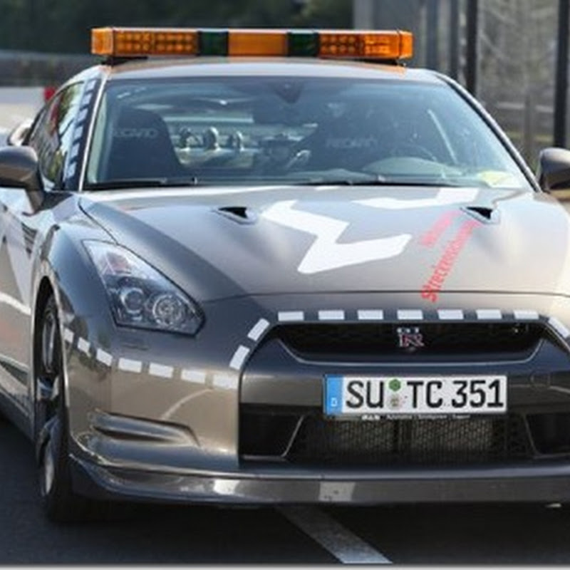 Nissan Says Firefighting GT-R Can Run the Ring Under 8 Minutes