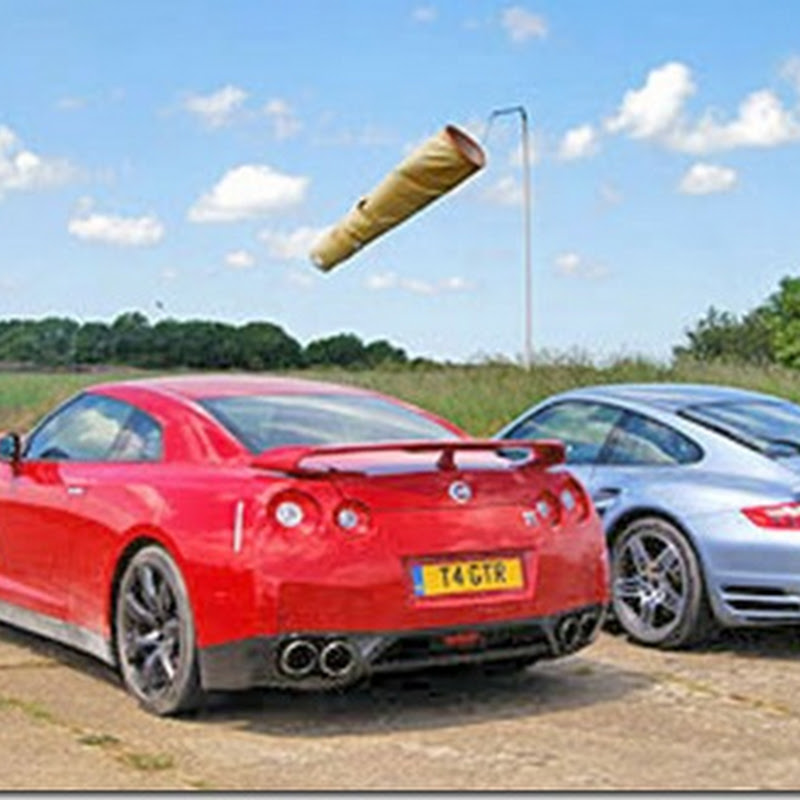 Twin test: Nissan GT-R v Porsche 911 Turbo