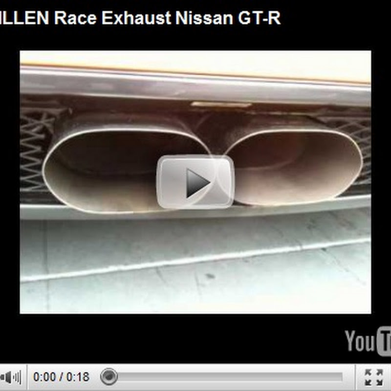 STILLEN Race Exhaust for Nissan GT-R