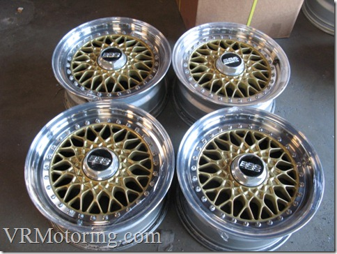 vr motoring used jdm wheels and rims bbs rs modified gold. Black Bedroom Furniture Sets. Home Design Ideas