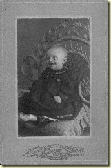Wednesday Wicker Wisdom-Babies on Cabinet Cards