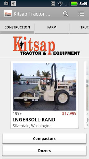 Kitsap Tractor Equipment