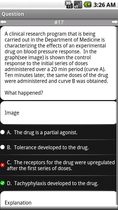 Pharmacology: Q&A - screenshot