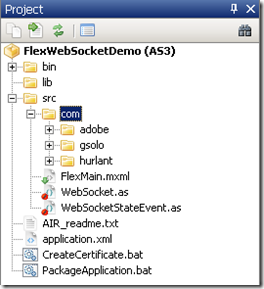 AIR app socket connection to Socket IO-node server using Web-socket