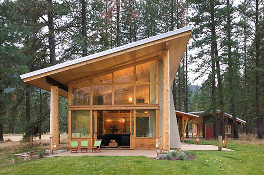 Small Cabin Wooden House Architect House Plans – Small Wood House Plans