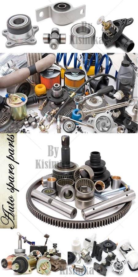 Stock Photo: Auto spare parts