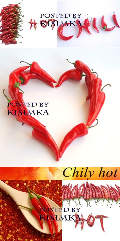 Stock Photo: Chily hot