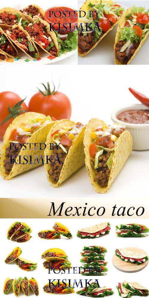 Stock Photo: Mexico taco
