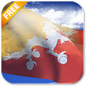 3D Bhutan Flag Live Wallpaper icon