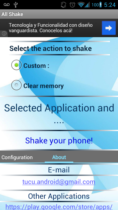 Shake Music FREE - screenshot
