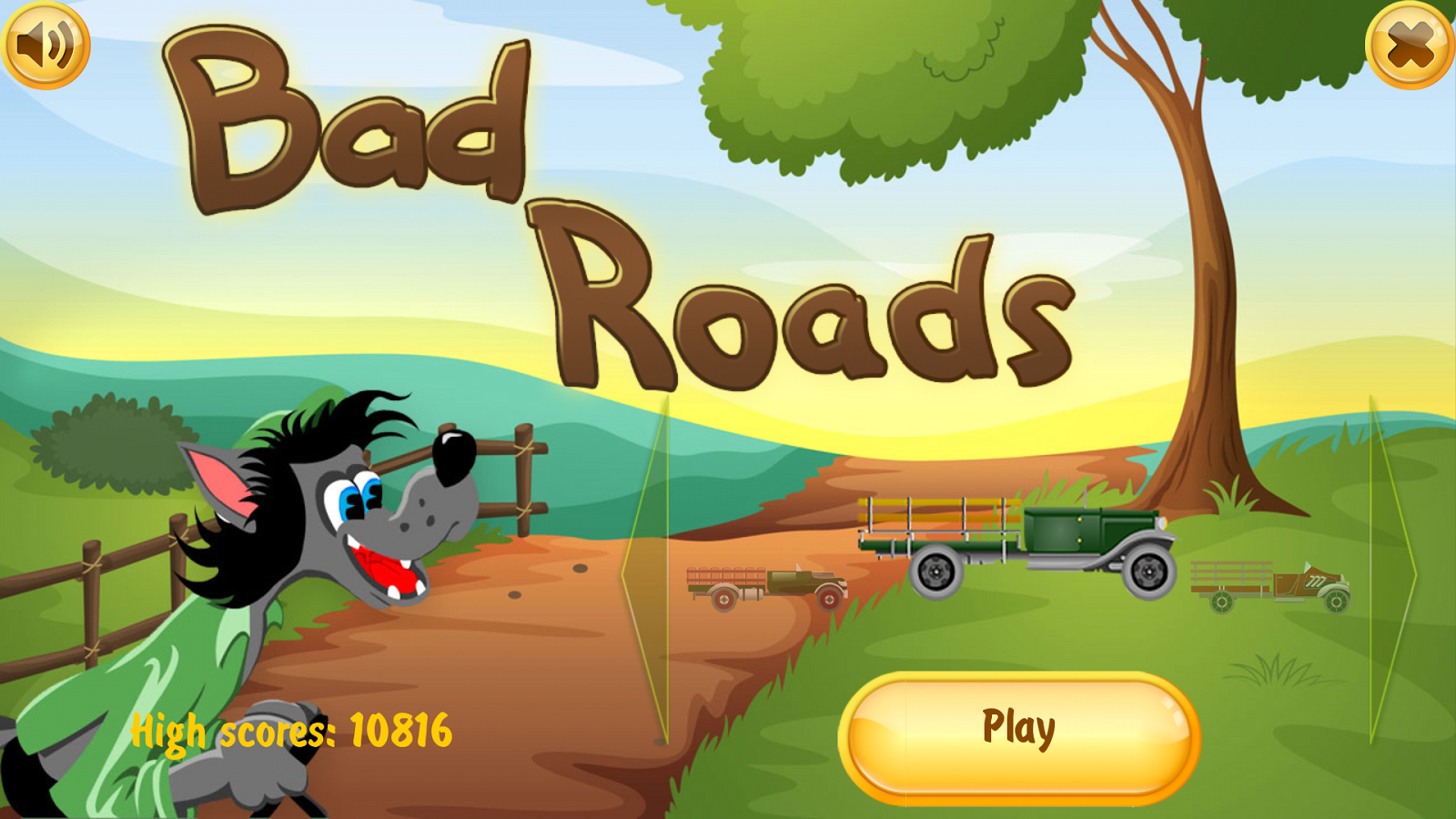 Bad Road - screenshot