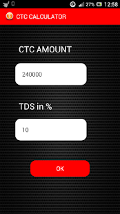 ctc calculator screenshot