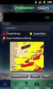 Tornadoes KCCI 8 Des Moines- screenshot thumbnail