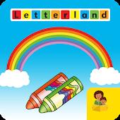 Letterland Rainbow Writing