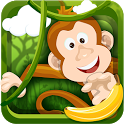 Monkey Safari Run-Badland Kong icon