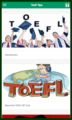 Learn TOELF Tips for Reading
