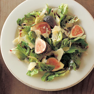 Escarole and Figs with Ruby Port Dressing
