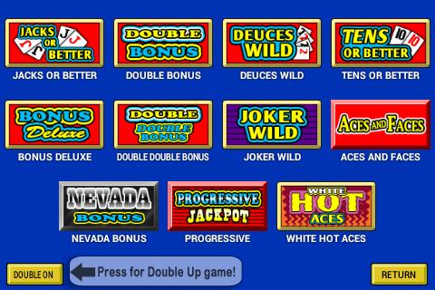 Video Poker - screenshot