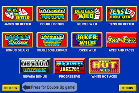 Video Poker 4.1 screenshot 227138