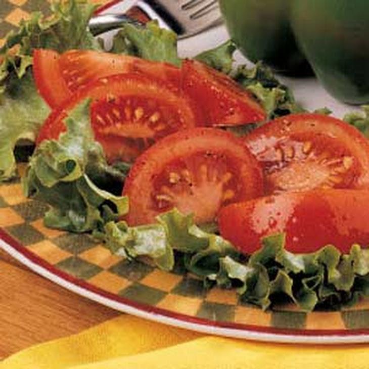 Tomatoes with Vinaigrette Recipe