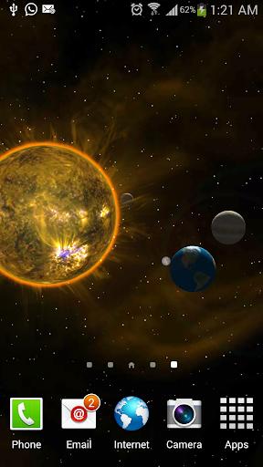 玩個人化App|Galaxy Planets Solar System Lt免費|APP試玩