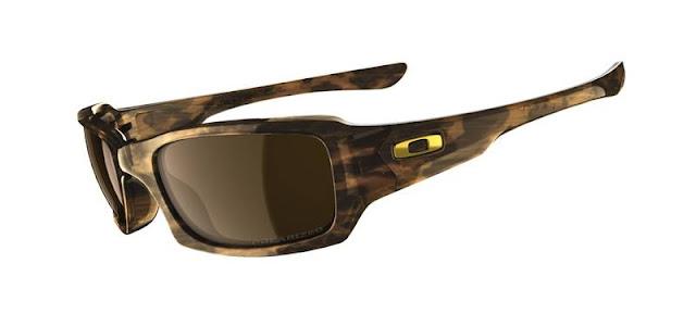 512171f4589b2 óculos Oakley Plaintiff Squared Brown Chrome Bronze Polarized ...