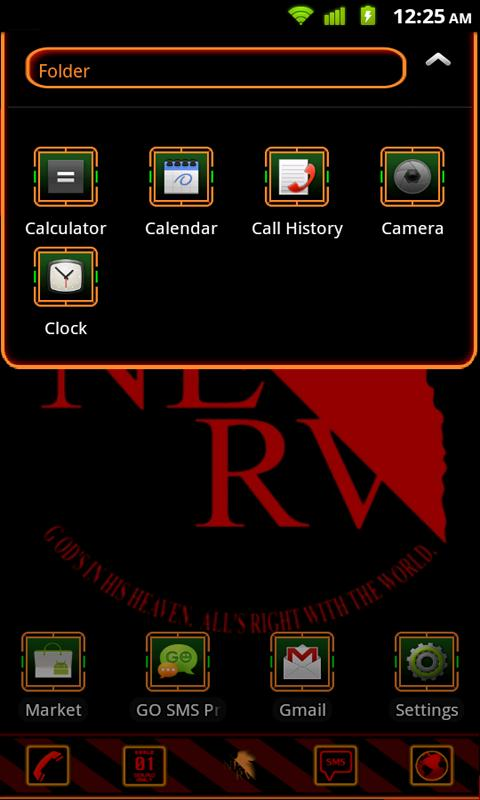 Evangelion NERV Theme - screenshot