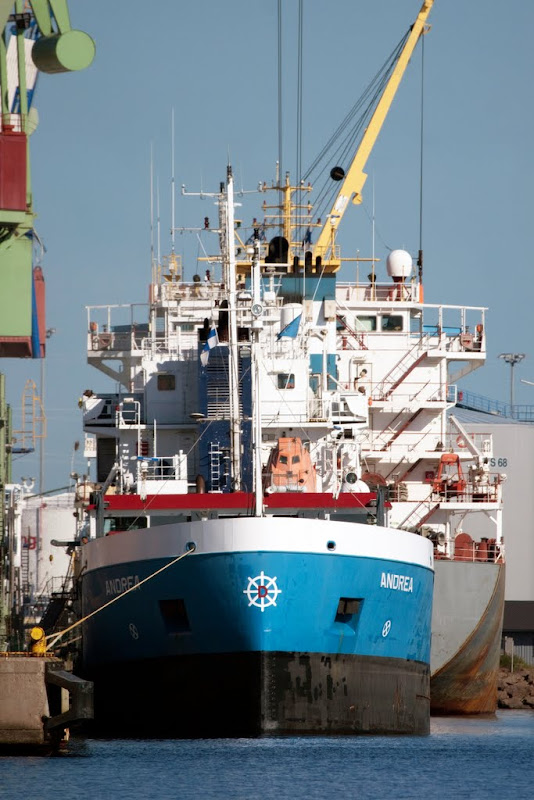 kameravene.fi shipspotting: m/s Andrea, Mussalo, Kotka
