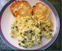 scrambled eggs-scallions