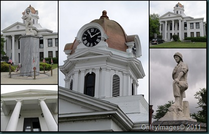 courthouse collage
