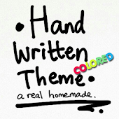 Handwritten Colored Theme GO