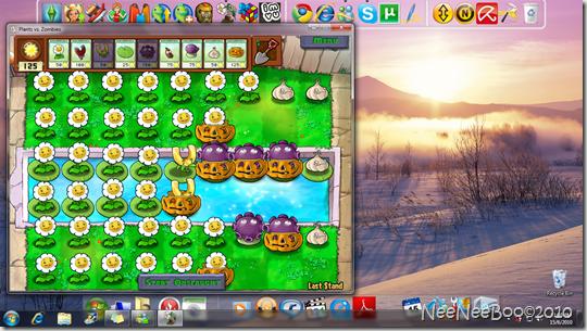 Plants vs Zombies – Last Stand Mini Game – Sure Win Strategy