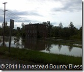 2011 Flood by Rt 13 and 127 N