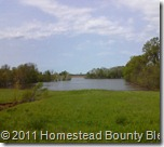 2011 Flood just S of Reed Station MHP
