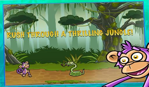 Monkey Run - 丛林动物之间洛卡香蕉战
