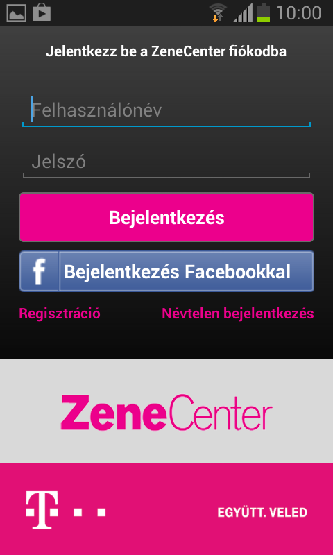 ZeneCenter - screenshot
